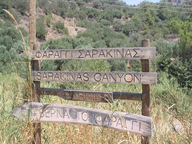 Wandelen door andere kloven op Grieks eiland Kreta