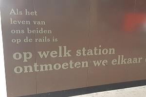 Wandelen over de Zuiderwaterlinie bij busstation Breda