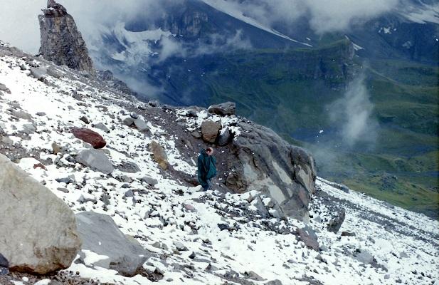 Sneeuwlandschap tijdens wandelreis in Zwitserland