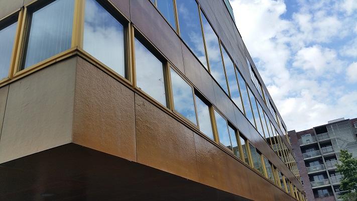 Gymnasium in Paleiskwartier tijdens wandeling Hedendaagse Architectuur in Den Bosch