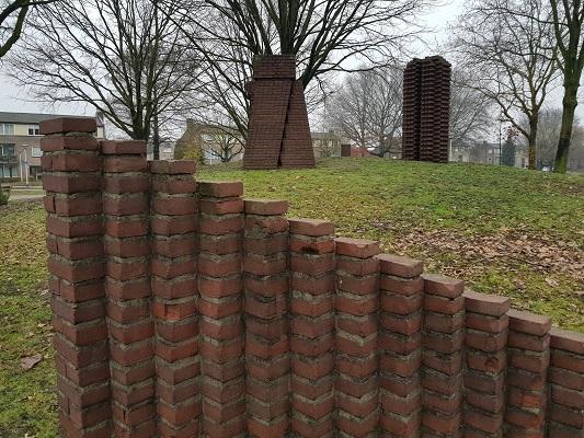 Kunstwerk Beljon Project in Helmond-Noord tijdens een wandeling Ontdek de Kunst van Brabant Vertelt