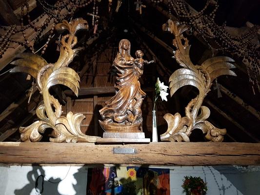 Kapel van Binderen in Helmond-Noord tijdens een wandeling Ontdek de Kunst van Brabant Vertelt