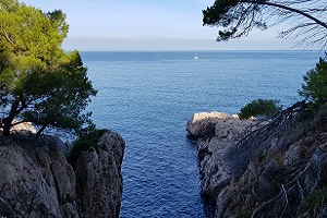 Noordkust bij Deia tijdens wandelreis op Mallorca in Tramuntanagebergte
