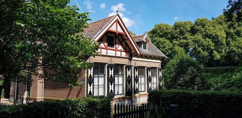 Trage tocht over de Utrechtse Heuvelrug bij Veenenbdaal bij kasteel Prattenburg