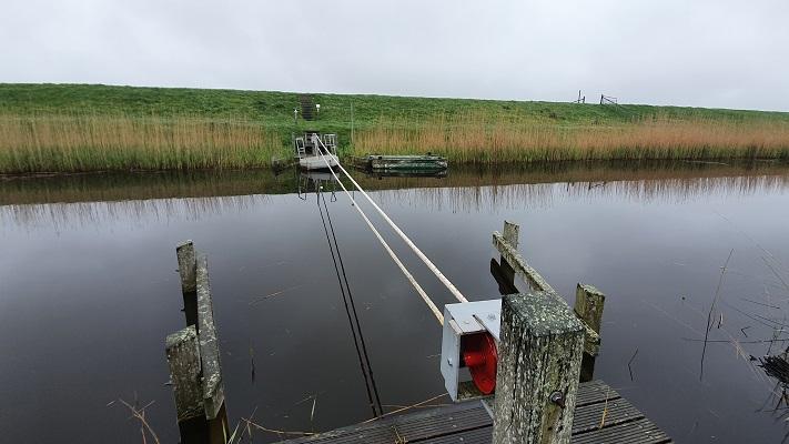 Wandeling op Texel van Cocksdorp naar Oosterend bij trekpontje over Eierlands Kanaal