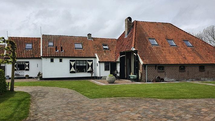 Wandeling op Texel van Cocksdorp naar Oosterend bij buurtschap Oost