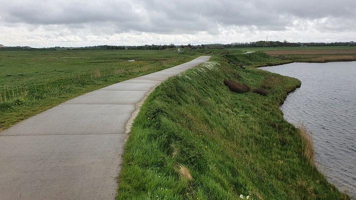 Wandeling dwarsover Texel