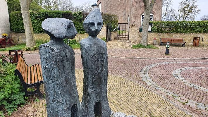 Wandeling dwarsover Texel bij Sommeltjes in De Waal