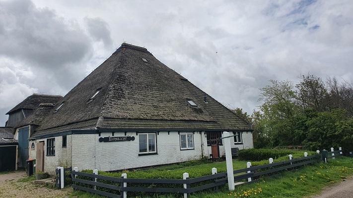 Wandeling dwarsover Texel bij Spangas