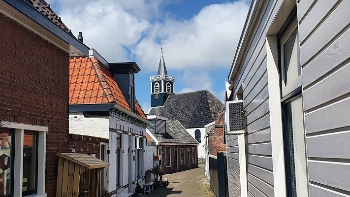 Wandeling van 't Horntje naar Oosterend op Texel in Oudeschild