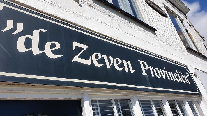Wandeling van 't Horntje naar Oosterend op Texel in Oudeschild bij de Zeven Provinciën