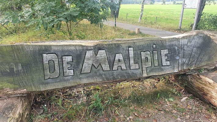 Wandeling over Trage Tocht Borkel in de Malpie