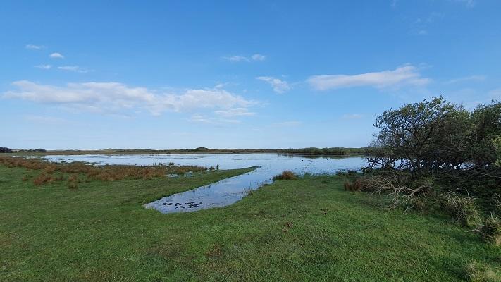 Wandeling op Texel van De Koog naar Cocksdorp bij de Nederlanden