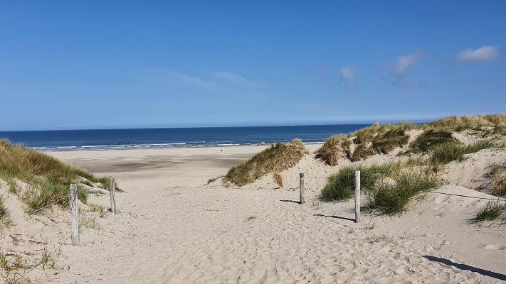 Wandeling op Texel van De Koog naar Cocksdorp bij de Noordzee